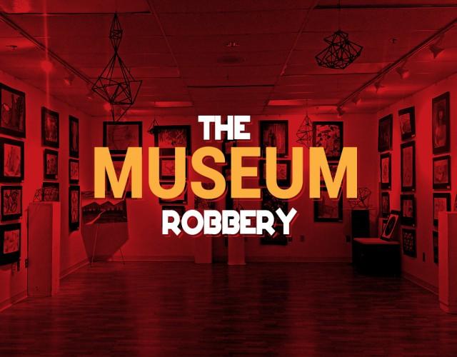 escape room arena museum robbery